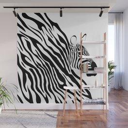 Zebra Wall Mural