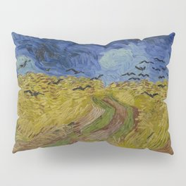 Wheatfield with Crows Pillow Sham