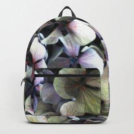 hydrangea flower macro Backpack