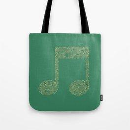 Techno Music Tote Bag