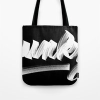 funky Tote Bags featuring FUNKY by Josh LaFayette