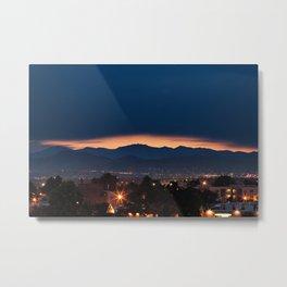 Mount Evans Sunset Metal Print
