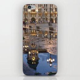 Trieste. Piazza Unità after an heavy rain iPhone Skin