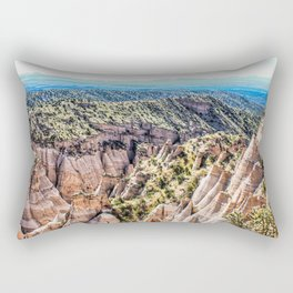 Tent Rocks Summit Rectangular Pillow