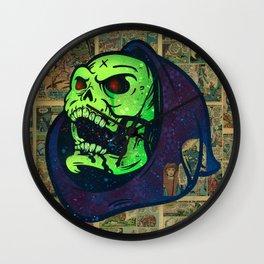 Skeletor Wall Clock