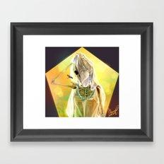 chiffon Framed Art Print