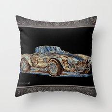 1965 Shelby AC Cobra Throw Pillow