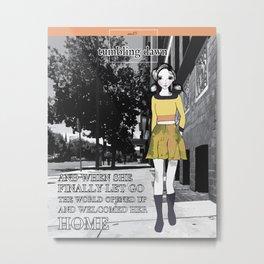November Girl #4 Metal Print