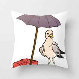 Ultimate beaching Throw Pillow