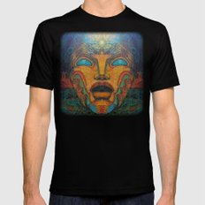 Beauty Within SMALL Black Mens Fitted Tee