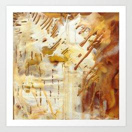 Wax #8 Art Print