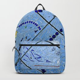 Abstract Baltimore Mirror Mosaic Backpack