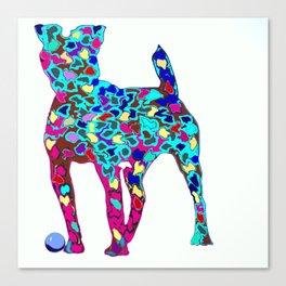 Dogs friend Canvas Print