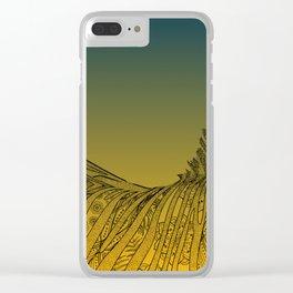 Zebra Design Clear iPhone Case