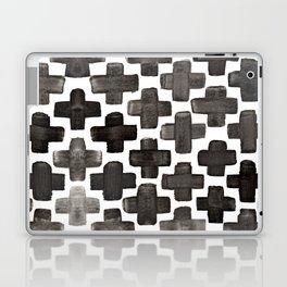 Black & White Crosses - Katrina Niswander Laptop & iPad Skin