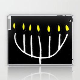 menorah,Hanukkah,jewish,jew,judaism,Festival ofLights,Dedication,jerusalem,lampstand,Temple Laptop & iPad Skin