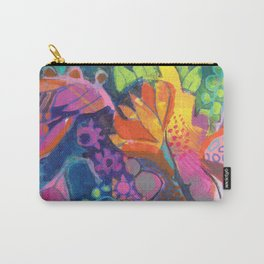 Colorful Floral Still Life Carry-All Pouch