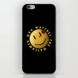 Who Watches The Watchmen? iPhone Skin