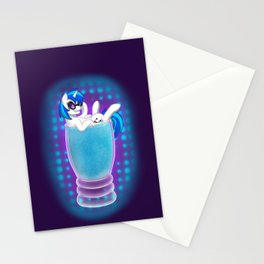 Drink Ponies: Vinyl Scratch Stationery Cards