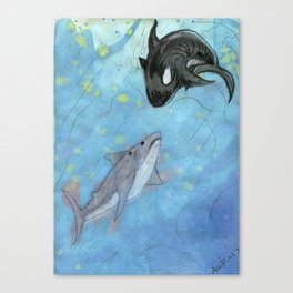 Natural Enemies Canvas Print
