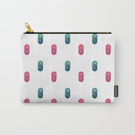 People Pill Pattern Carry-All Pouch