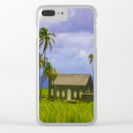 Church by the Sea Clear iPhone Case