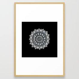 Organic Mandala Framed Art Print