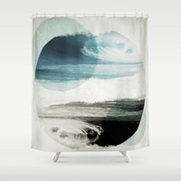 friends Shower Curtains featuring Nalunani by .eg.