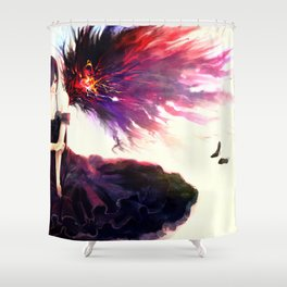 tokyo ghoul Shower Curtain