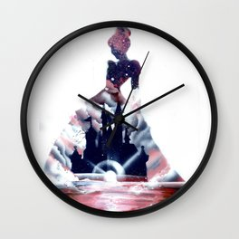 Cindy and her castle Wall Clock