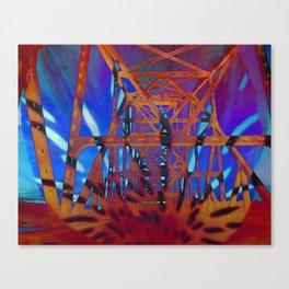 Bridge of fate IV Canvas Print
