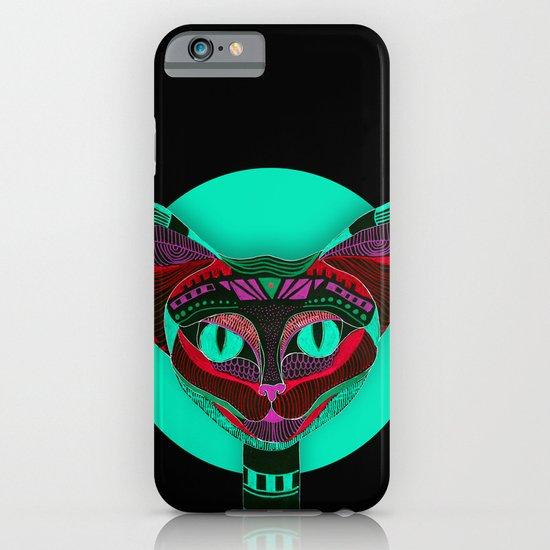 Black CAT- Black iPhone & iPod Case