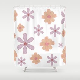 Floral. Shower Curtain