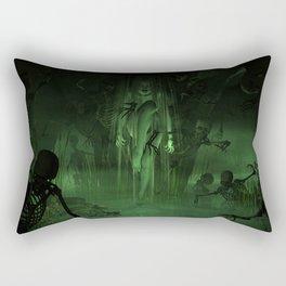 Swamp Witch Rectangular Pillow