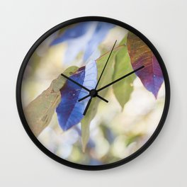 Autumn days Wall Clock