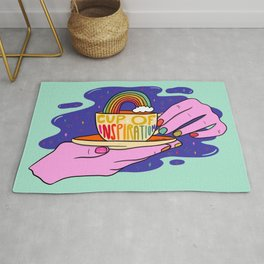 Cup of Inspiration Rug