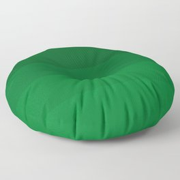 Rich Forest Evergreen Stripes Ombre Floor Pillow