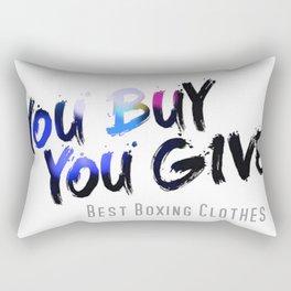 YBYG logo COL Rectangular Pillow