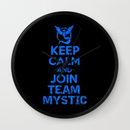 Team Mystic Wall Clock