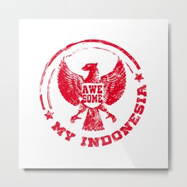 Garuda Indonesia symbol is awesome Metal Print