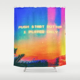 Single Player Shower Curtain
