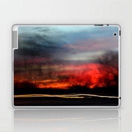 Night Lights Moving Sunset 2 Laptop & iPad Skin