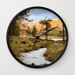 Lake District landscape Wall Clock