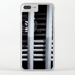Vehicle Radiator Abstract II Clear iPhone Case