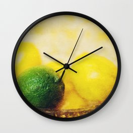 All puckered up ! Wall Clock