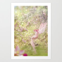 Apple Blossom Art Print