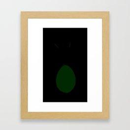 Penguin in a bunnysuit Framed Art Print