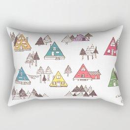 A Frames Rectangular Pillow