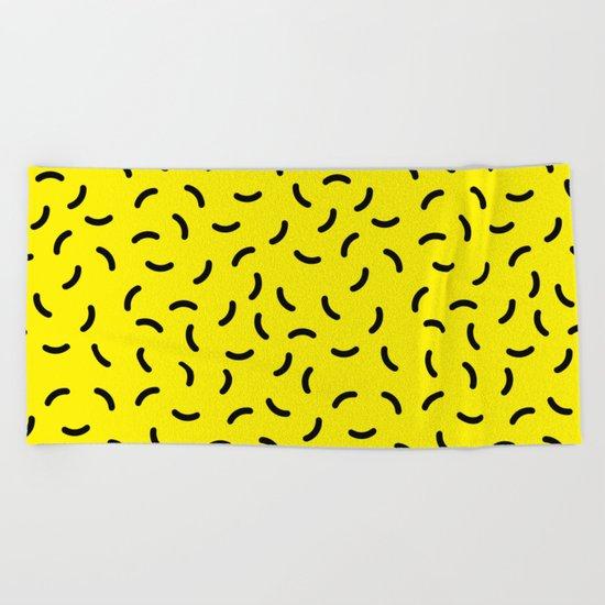 Memphis pattern 41 Beach Towel