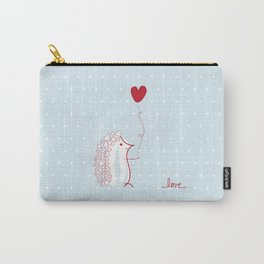 Hedgehog Love Carry-All Pouch
